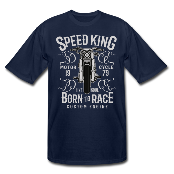 Speed King Men's Tall T-Shirt - D&B Zensation