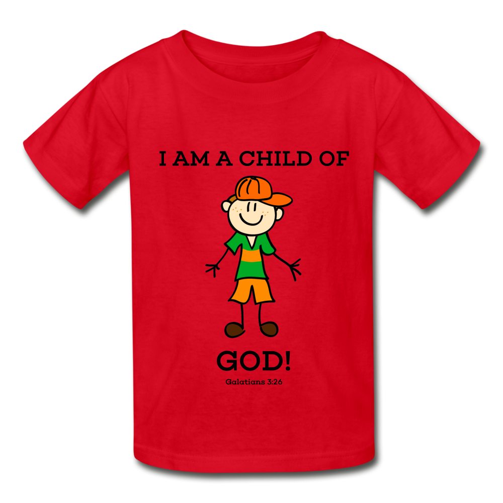 Child Of God Gildan Youth T-Shirt - D&B Zensation