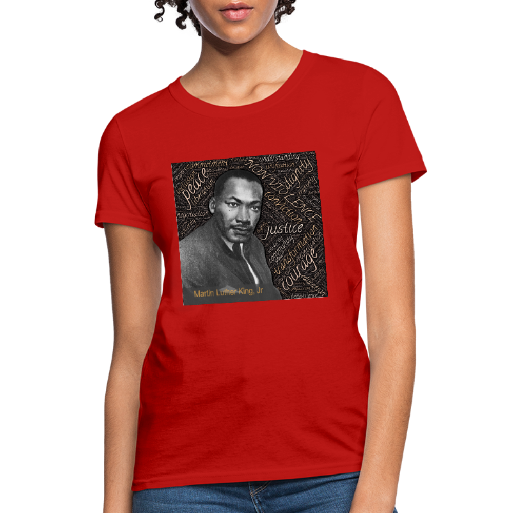 Martin Luther King Jr Women's T-Shirt - D&B Zensation