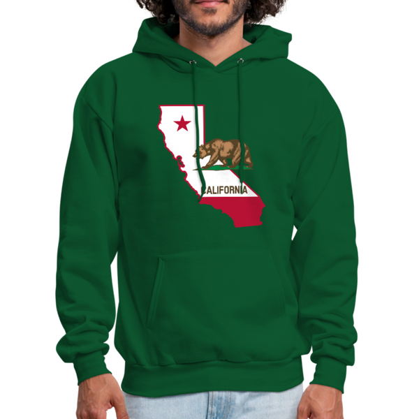 California Men's Hoodie - D&B Zensation