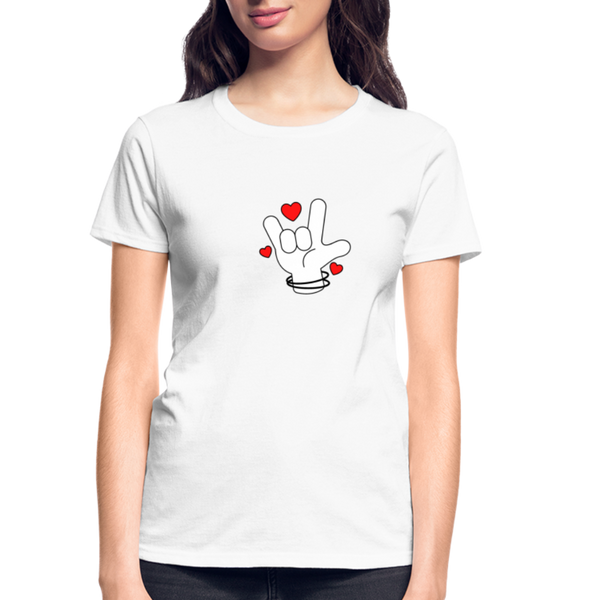 I Love You T-Shirt - D&B Zensation