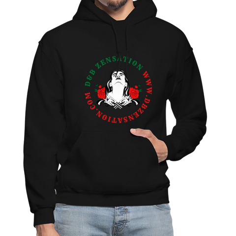 Flowers And Guns Hoodie - D&B Zensation