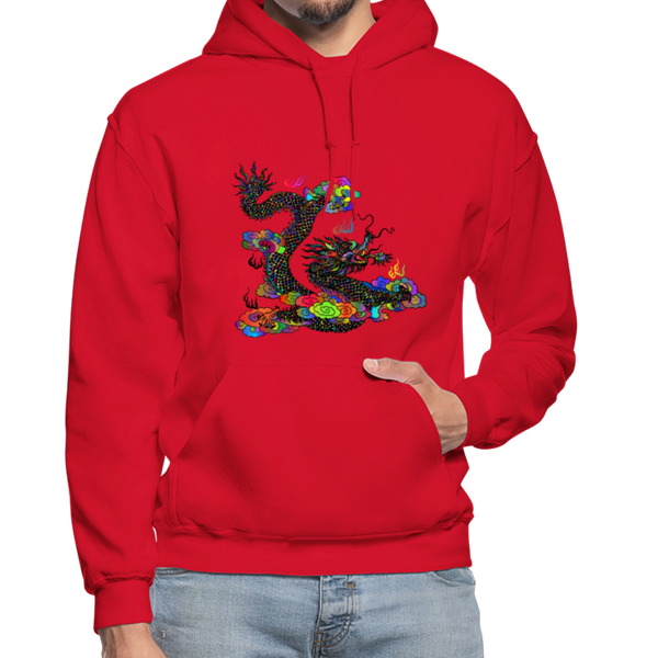 Colorful Dragon Hoodie - D&B Zensation