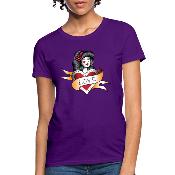 Love T-Shirt - purple