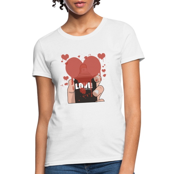 Love Spray T-Shirt - white