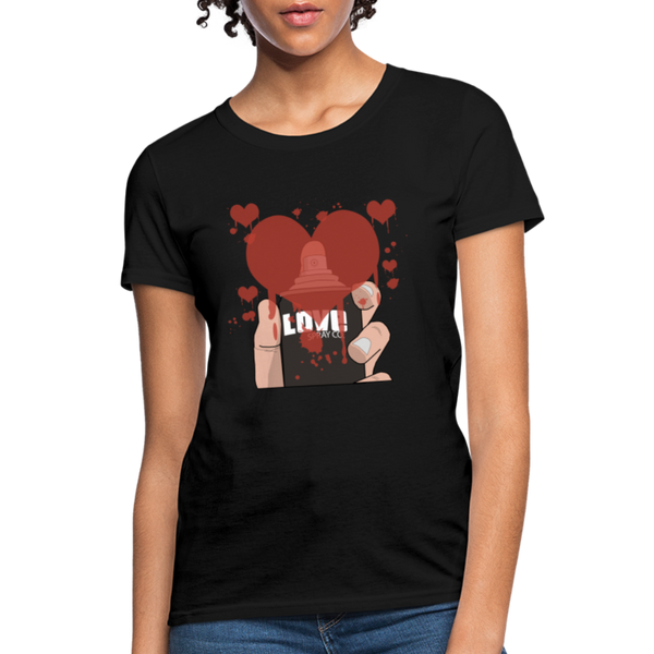 Love Spray T-Shirt - black