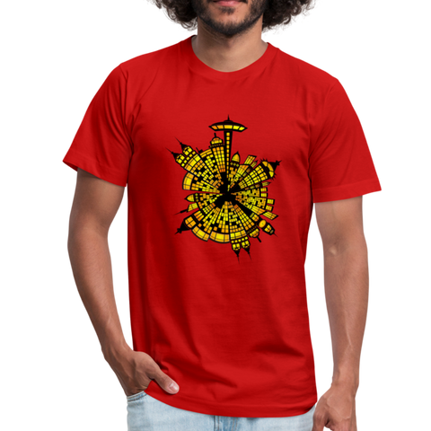 City Life T-Shirt - red
