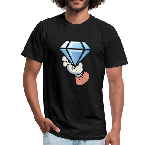 Diamond Hands T-shirt - black