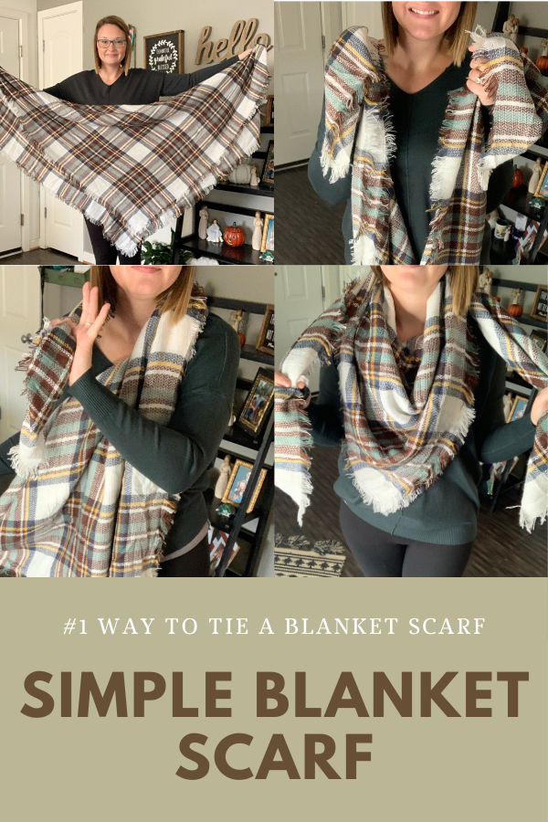 blanket scarf how to