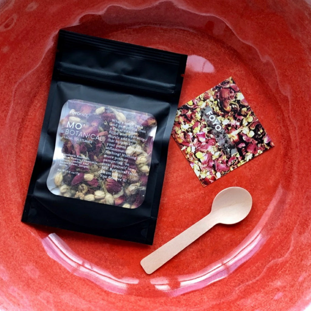 PAMPER YO'SELF WITH OUR MO' BOTANICAL FACIAL TEA