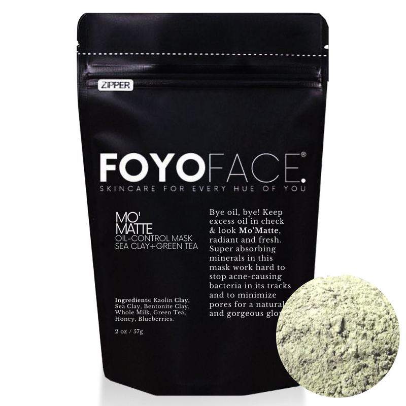 MO' MATTE - OIL CONTROL MASK - SEA CLAY + GREEN TEA