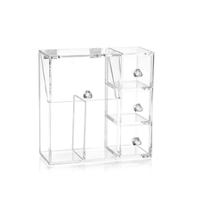 Load image into Gallery viewer, High Quality Clear Acrylic Make Up Organiser With Drawers