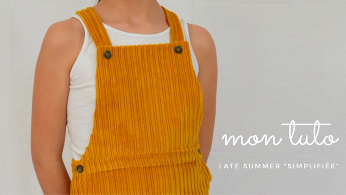 "Mon tuto ... version simplifiée de ""late summer"" !"
