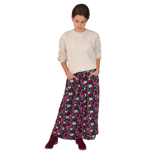 patron couture jupe culotte viscose fille 4 au 14 ans lou and me