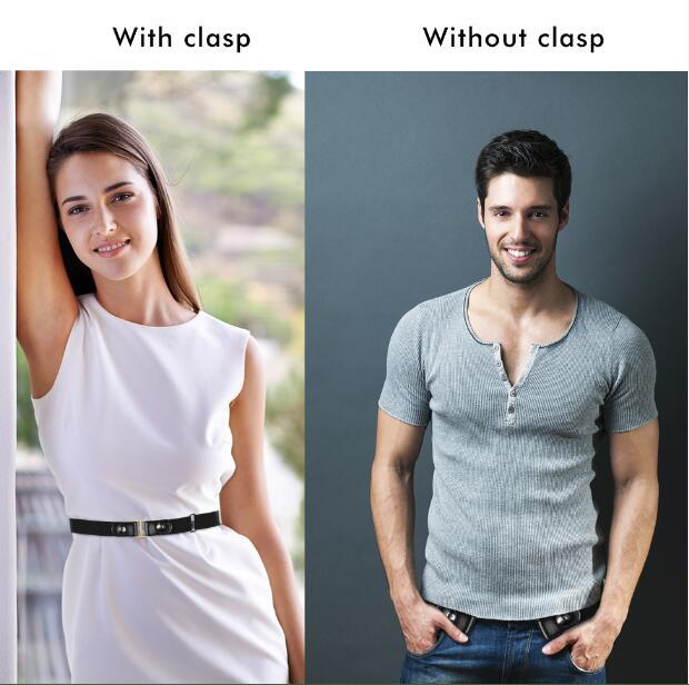 FlexWaist™ Buckle-Free Elastic Belt