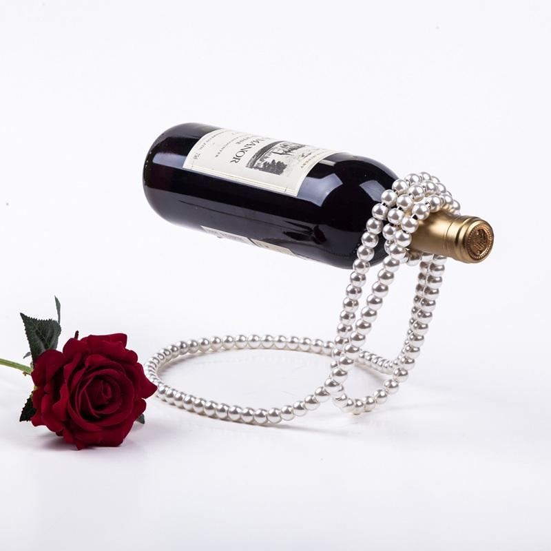 Pearl Necklace | Anti-Gravity Floating Wine Rack
