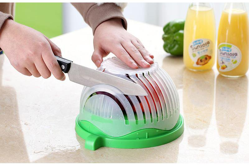 EasySalad™ - Salad Cutting Bowl