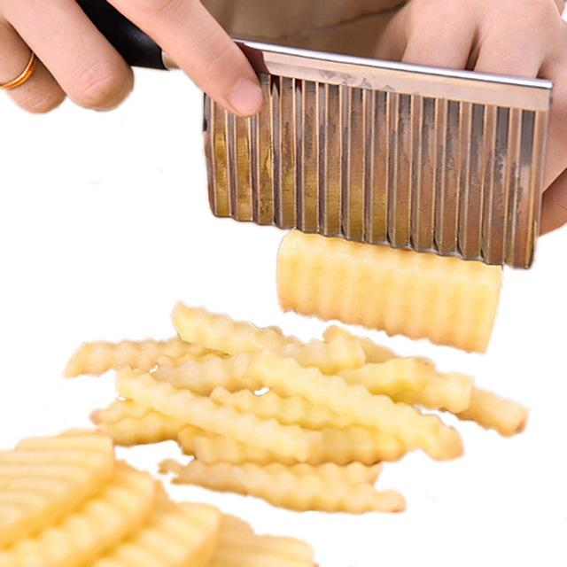 Wavy Potato Slicer
