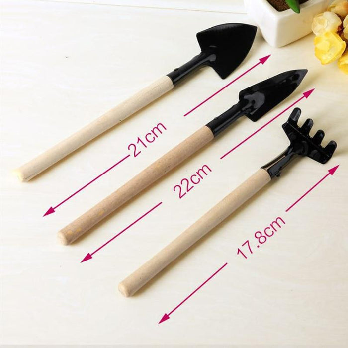TeenieGarden™ - 3-Piece Mini-Gardening Tool Set