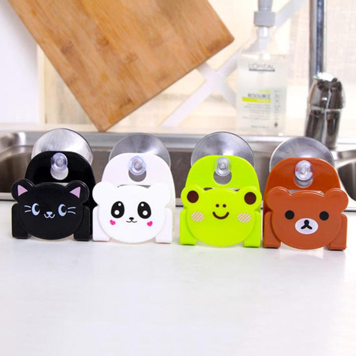Sink Friendlies™ - Cartoon Animal Sink Holder