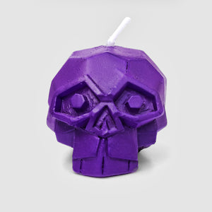 Mini Diamond Skull Candle Set