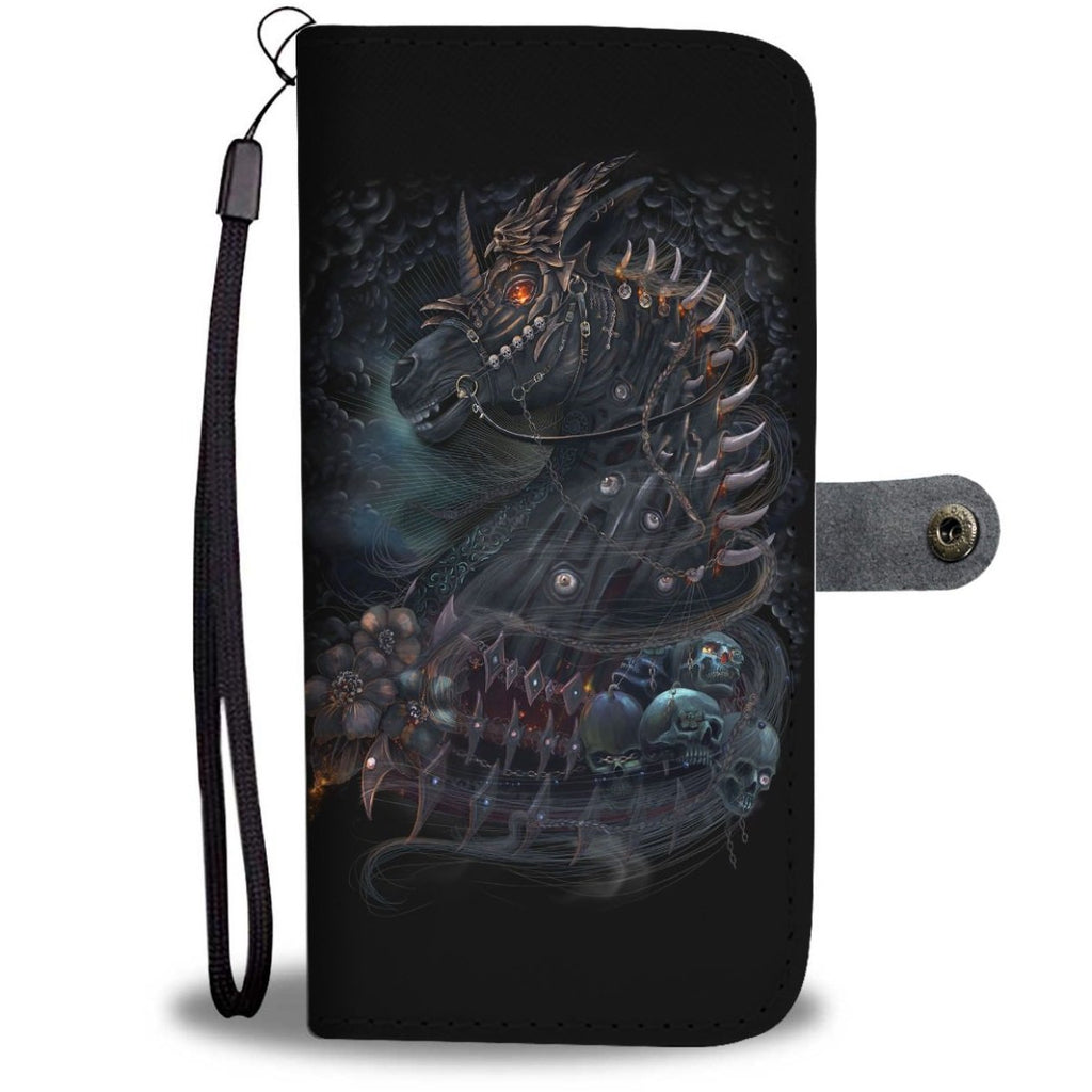 Undead Unicorn Wallet Phone Case