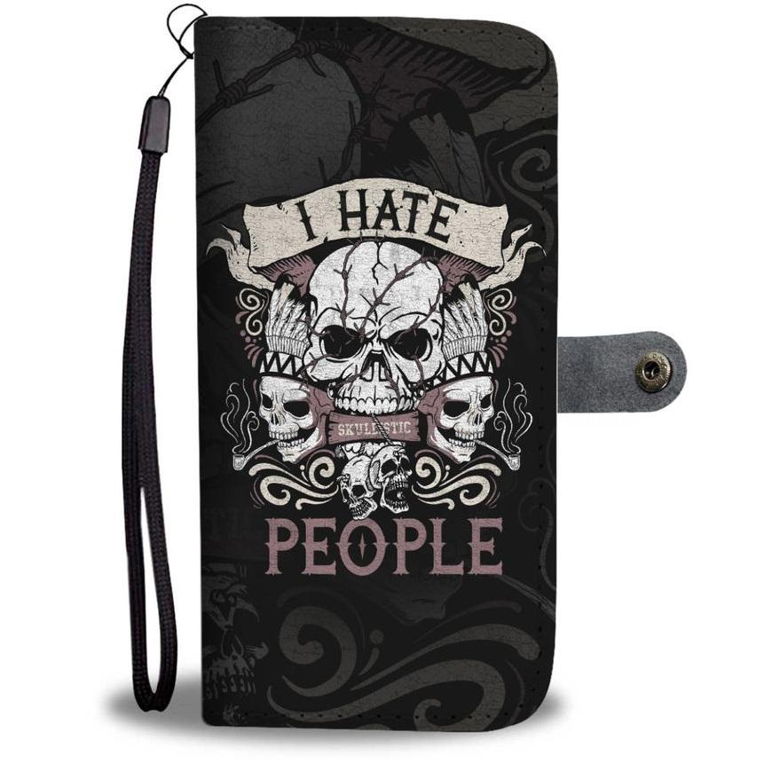 I Hate People Wallet Phone Case