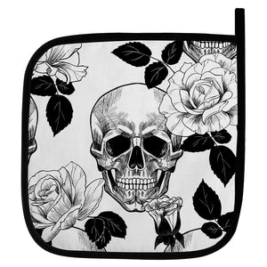 Gothic Skull oven baking pot holder