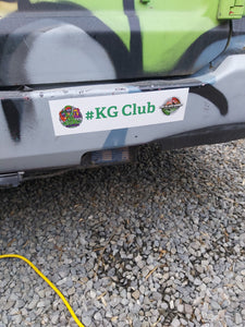 KG Club Bumper Stickers