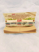Load image into Gallery viewer, RAW HEMP ROLLING PAPERS