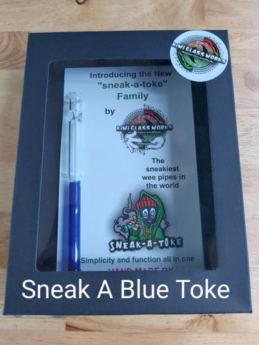 Sneak A Blue Toke