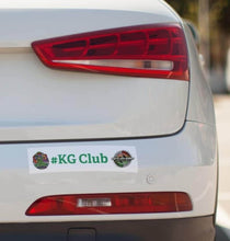 Load image into Gallery viewer, KG Club Bumper Stickers
