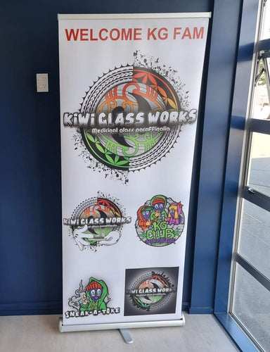 Sneak A Toke Pull Up Banner