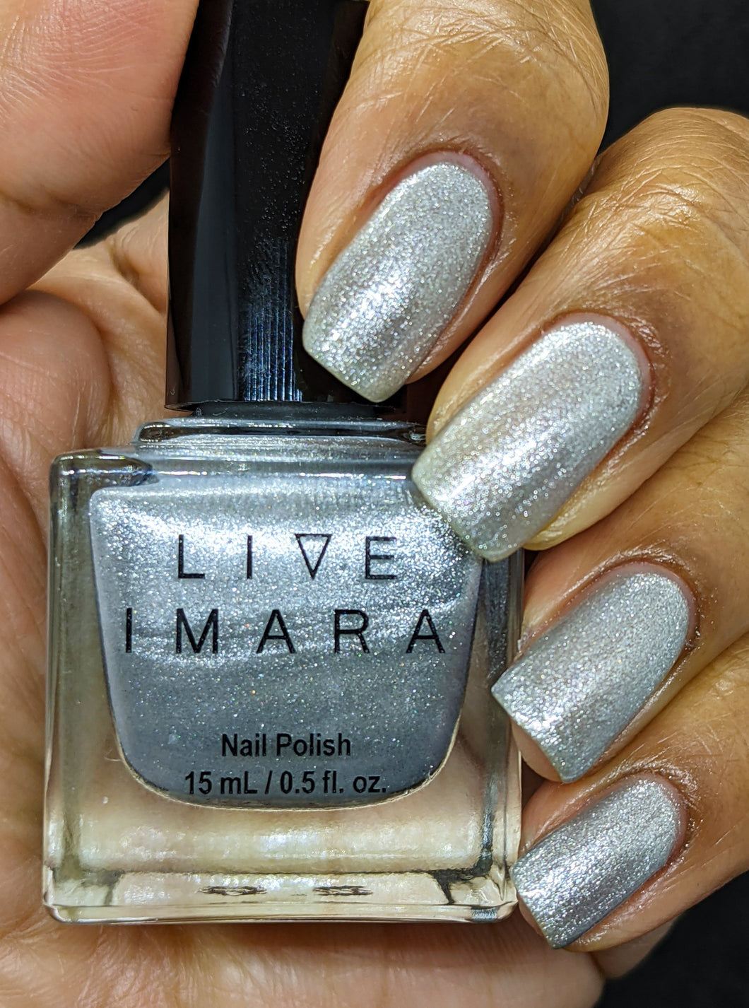 Silver Glitter Nail Polish - Foiled Again