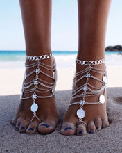Load image into Gallery viewer, Coin Toss Barefoot Sandals