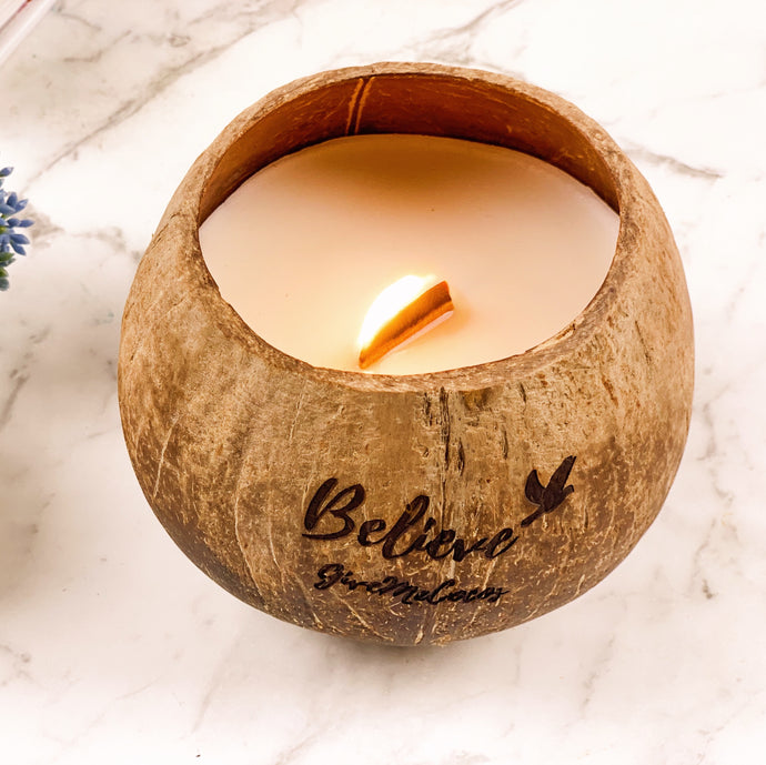 CARE TIPS for your SOY COCONUT CANDLE