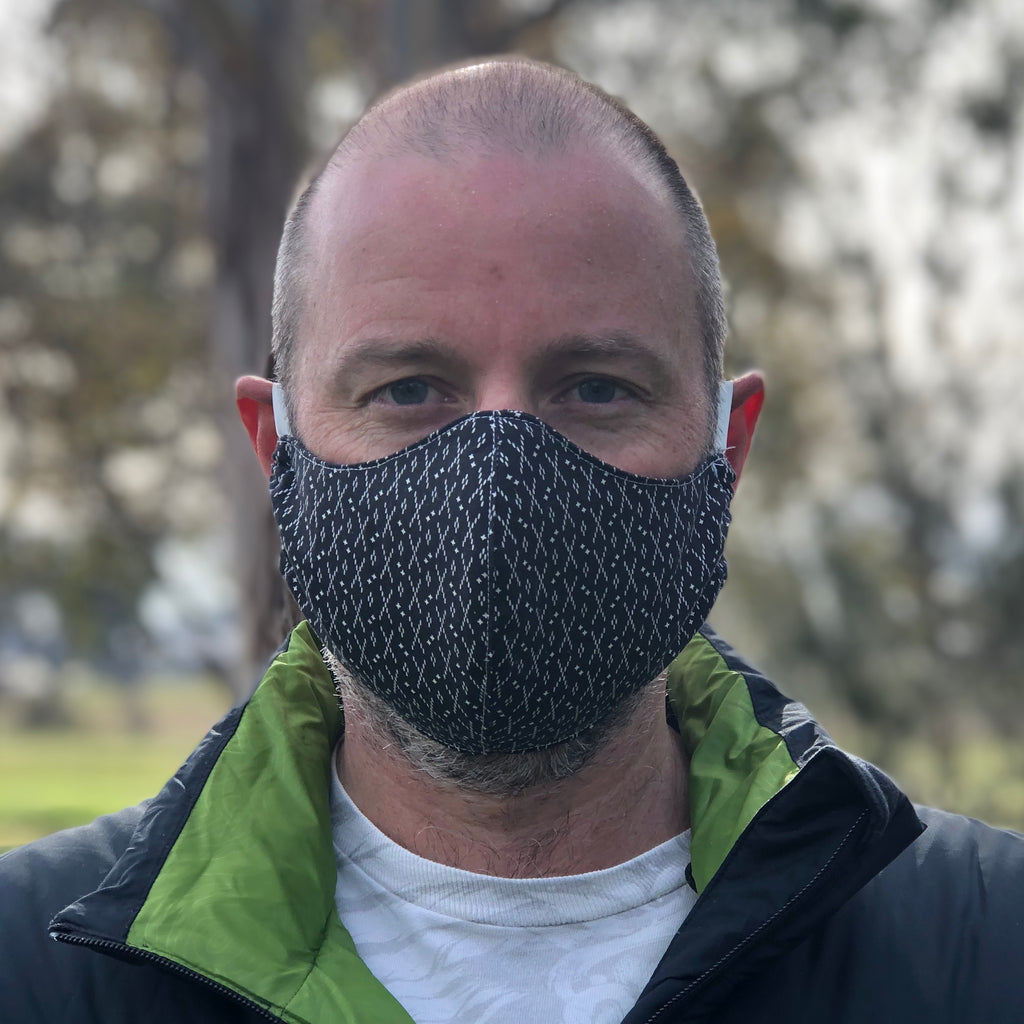Washable/Reusable Fabric Face Mask - Size Mens