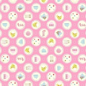 Garden Party by Tea & Sympathy – Tea Time Large Polka Dot Pink