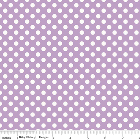 Cotton Dots - Lavender Small