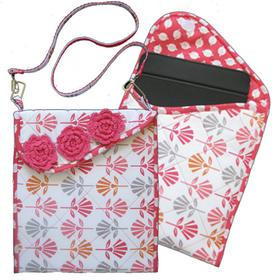 The Tessa Tablet Tote by Heidi Ho Patterns