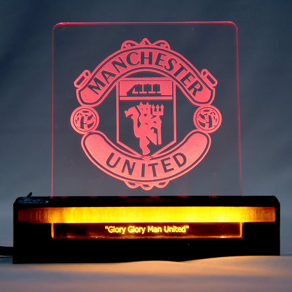 Manchester United 3D Acrylic Dual LED
