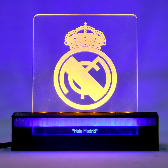 Madrid 3D Acrylic Dual LED