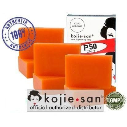 Kojie San Skin Bleaching Soap 6 Bars X 65 Grams = Total 390 grams