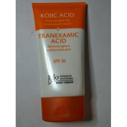 Belo Essentials Kojic +Tranexamic Acid Skin Whitening Body Cream 150 ml