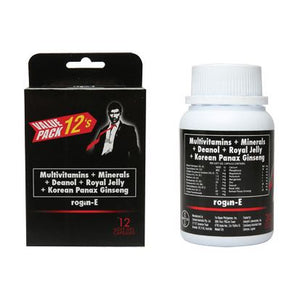Rogin-E  For The Man On Top All Natural Sex Supplement For Men 12 Softgels