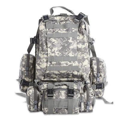 Multifunction Tactical Camouflage Backpack for Outdoor Sport Climbing - Athleisure Republic