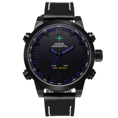 Men Analog Digital-Watch | Men Quartz Watch Sports - Athleisure Republic