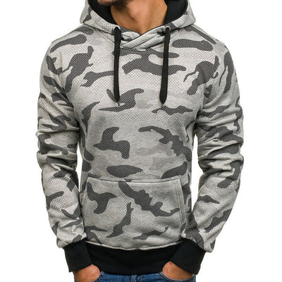 Vertvie Camouflage Men Hoodies Autumn Winter Sweatshirts - Athleisure Republic