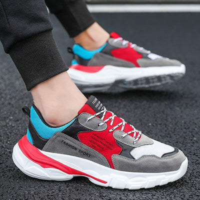 Mens Running Shoes | Athleisure Thick Bottom Brand Walking Shoes - Athleisure Republic