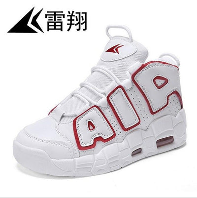Men and women sports basketball shoes breathable outdoor sports shoes - Athleisure Republic